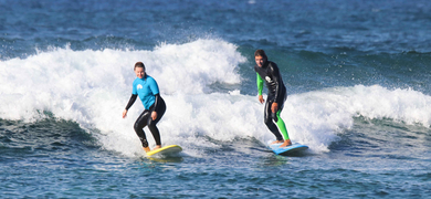 Fuerteventura private surf lesson