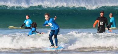 Cover for kids surf experience in Fuerteventura