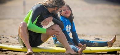 Fuerteventura kids surfing