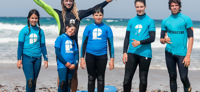 Fuerteventura group surf lesson