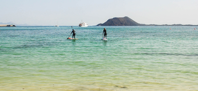 Fuerteventura stand-up paddle boarding