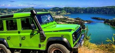 Jeep in São Miguel