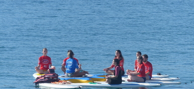 Cover for Paddle yoga in Cascais