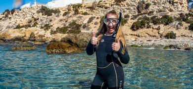 Tabarca island snorkeling