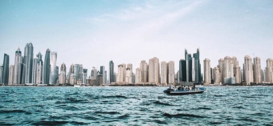 Private skyscrapers boat tour in Dubai