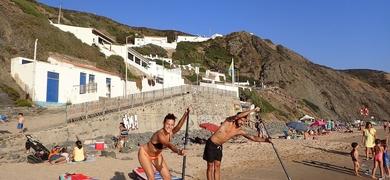 SUP Tour in Arrifana beach class