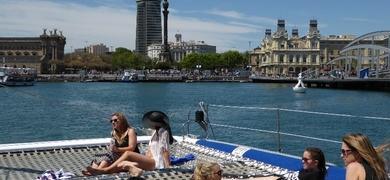 Barcelona music boat tour