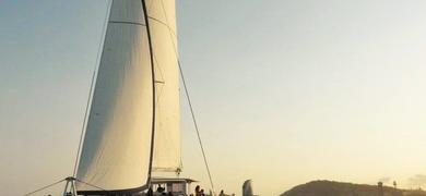 Sailing trip in Barcelona