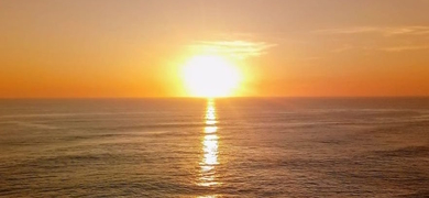 Sunset cruise in Nazaré with champagne Cover
