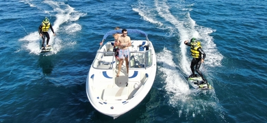 Cover for boat trip with snorkeling and jetsurf in Dénia