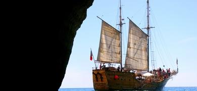Pirate Ship in Algarve