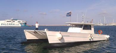 Dénia motor catamaran