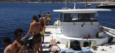 Catamaran boat trip from Dénia
