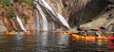 Cover for Kayak tour from Ézaro to the waterfalls