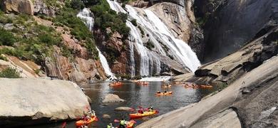Kayak trip Ézaro