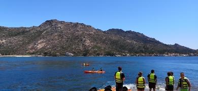 Kayak tour Ézaro