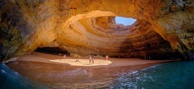 Admire the Benagil cave