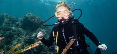 Diving experience from Santa Pola