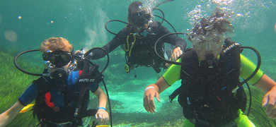 Formentera diving experience