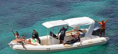 Formentera boat tour