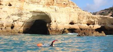 Portimão swim adventure Cover
