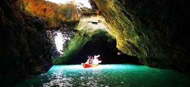 Explore hidden caves
