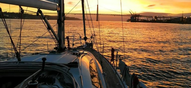 Lisbon Sunset Sailing