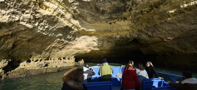 Cave tour in Albufeira
