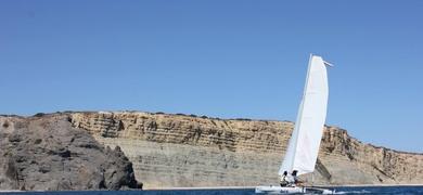 sailing in Praia da Luz