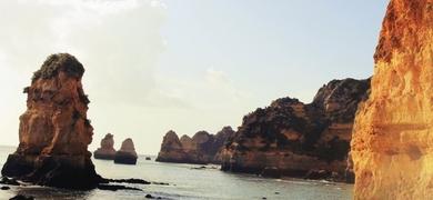 D. Ana view ponta da piedade, Lagos, Algarve