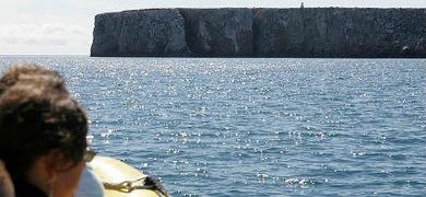 Boat trip from Praia da Luz to Sagres Portugal