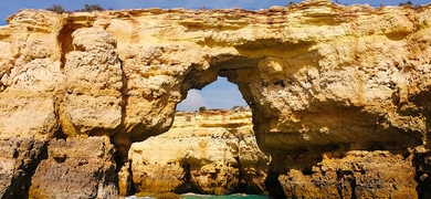 The Algarve coast is blessed with caves and grottos