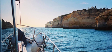 Coastal tour on private yacht portimao Cover