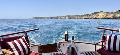 Full day private cruise in Portimão