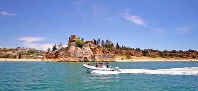 Boat tour to Benagil