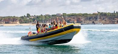 Benagil Grotto Cruise from Portimão on a RIB