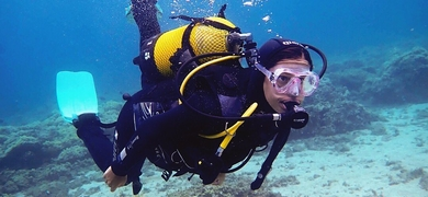 Enjoy the experience of scuba diving in Tenerife