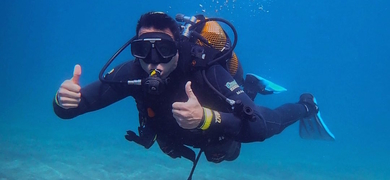 Have fun underwater while scuba diving in Tenerife