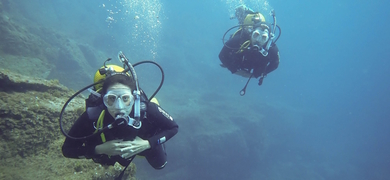 Open Water diving course Tenerife Cover