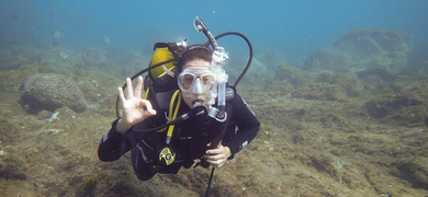 Tenerife scuba diving  Cover
