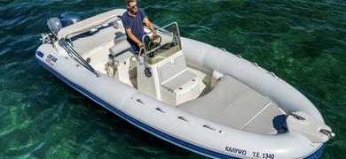 Come on board the RIB boat