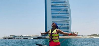 Enjoy the feeling of jetsking in Dubai