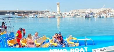 Come aboard the RIB boat in Dubai
