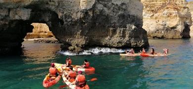 Ponta da Piedade Kayak and Boat tour