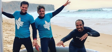 Have an unforgettable time while learning how to surf