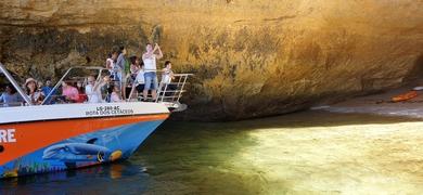 Explore hidden caves around Benagil