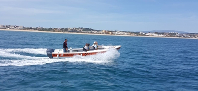 Boat taxi from Lagos to Alvor