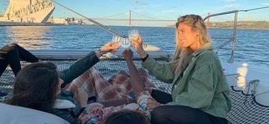 Bring your friends onboard in Lisbon