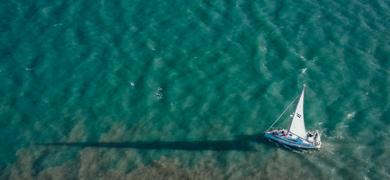 Lisbon sailing trip to the beach