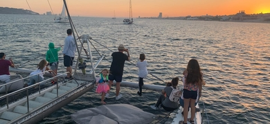 Enjoy some quality time on the Tagus River